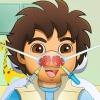 Explorer çocuk burun doktor oyunu