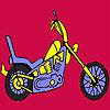 Hızlı daha zor motosiklet boyama oyunu