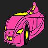 Hızlı futuristik araba boyama oyunu