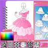 Moda Studio - Prenses giysi tasarımı oyunu