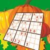 Sonbahar zaman Sudoku oyunu