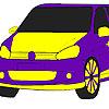 Hızlı alev araba boyama oyunu