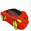 Hızlı yoğun araba boyama oyunu