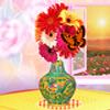 Çiçek vazo dekorasyon oyunu