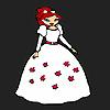 Çiçek gelin Kız Boyama oyunu