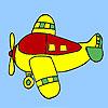 4 koltuklu uçak boyama oyunu