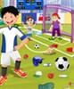 Futbol Zemin Temizleme oyunu
