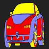 Komik araba boyama oyunu