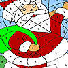 Komik Noel Baba Boyama oyunu
