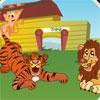 Eğlenceli Hayvanat Bahçesi'nde oyunu