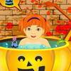 Cadılar Bayramı bebek banyo oyunu
