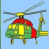 Ağır helikopter boyama oyunu