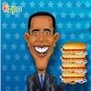 Sosisli sandviç Obama oyunu