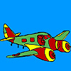 Jet airplane coloring oyunu