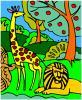Orman boyama oyunu