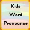 Çocuklar kelime telaffuz oyunu