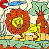 Küçük aslan boyama oyunu