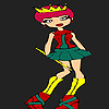 Küçük yeni Prenses Boyama oyunu