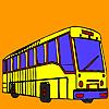Uzun sokak otobüs boyama oyunu