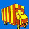 Uzun yol kamyon boyama oyunu