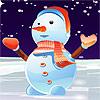 Güzel kardan adam Giydir oyunu