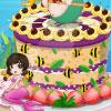 Çok güzel deniz kızı pasta oyunu