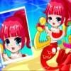 Deniz kızları Noel tarzı oyunu