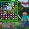 Minecraft Bejeweled oyunu