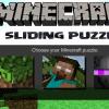 Minecraft bulmaca kayma oyunu