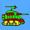 Modern askeri tank boyama oyunu