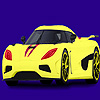 Modern ve hızlı araba boyama oyunu
