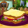 Sabah sandviç dekorasyon oyunu