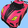 Most speed car coloring oyunu