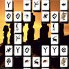 Gizemli heykeller Mahjong oyunu
