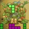 Ninja Kaplumbağalar Tetris oyunu
