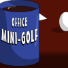 Office mini golf oyunu