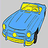 En eski üstü açık araba boyama oyunu