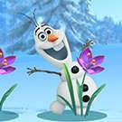 Gizle Seek donmuş Olaf oyunu