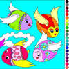 Painting Eggs 2 - Rossy Coloring Games oyunu