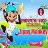 Peppys Pet bakım - hareketli maymun oyunu