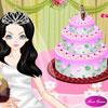 Mükemmel bir düğün pasta dekorasyon oyunu