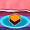 Fıstık ezmesi ve koyu çikolata Fudge oyunu