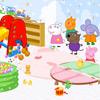 Peppa Pig oyun odası dekorasyon
