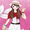 Pink garden girl dress up oyunu
