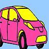 Pembe kişisel araba boyama oyunu