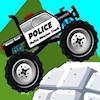 Polis canavar kamyon oyunu