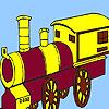 Hurda Köyü tren boyama oyunu