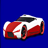 Red concept racing car coloring oyunu