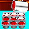 Kırmızı kadife kekler oyunu