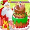 Santa Clauss lezzetli kek oyunu